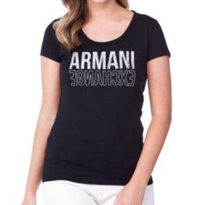 Armani Exchange Logo Tee